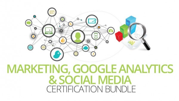 Marketing, Google Analytics and Social Media Training Bundle