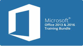 Microsoft Office 2013 & 2016 Training Bundle