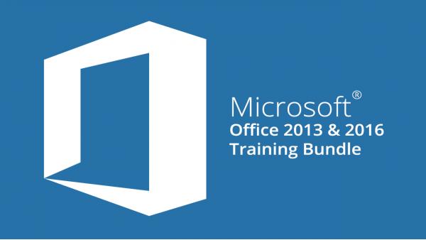 Microsoft Office 2013 & 2016 Training Bundle