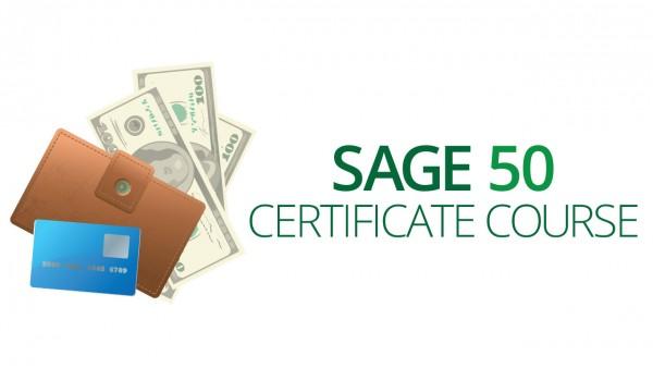 Sage 50 Certificate Course