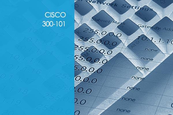 Cisco IP Routing 300-101