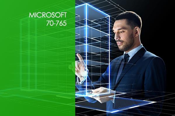 Microsoft SQL 70-765