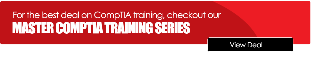 CompTIA Online Training Deal